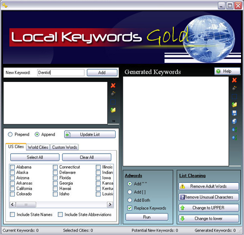 free download local keywords